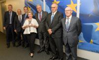 Visit of Nikolaos Karamouzis to the EC