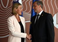 Visit of Federica Mogherini, Vice-President of the EC, to Slovenia