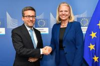 Visit of Ginni Rometty, President, Chairman and CEO of IBM, to the EC