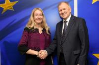 Visit of Ulana Nadia Suprun, Acting Ukrainian Minister for Healthcare, to the EC