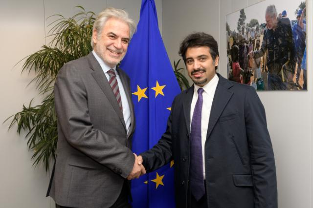 Visit of Fahad Al-Sulaiti, CEO of Education Above All, to the EC