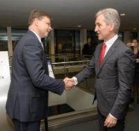 Visite de Iurie Leancă, vice-Premier ministre moldave pour l'Intégration européenne, à la CE