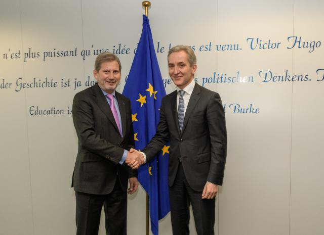 Visit of Iurie Leancă, Moldovan Deputy Prime Minister for European Integration, to the EC