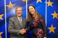 Visit of Carola Schouten, Dutch Deputy Prime Minister; Minister for Agriculture, Nature and Food Quality, to the EC