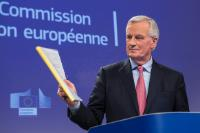 Press conference of Michel Barnier, Chief Negotiator in charge of the Preparation and Conduct of the Negotiations with the United Kingdom