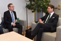 Visit of Mika Lintilä, Finnish Minister for Economic Affairs, to the EC