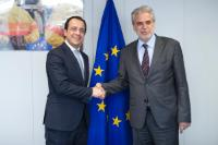 Visit of Nikos Christodoulides, Cypriot Minister for Foreign Affairs, to the EC