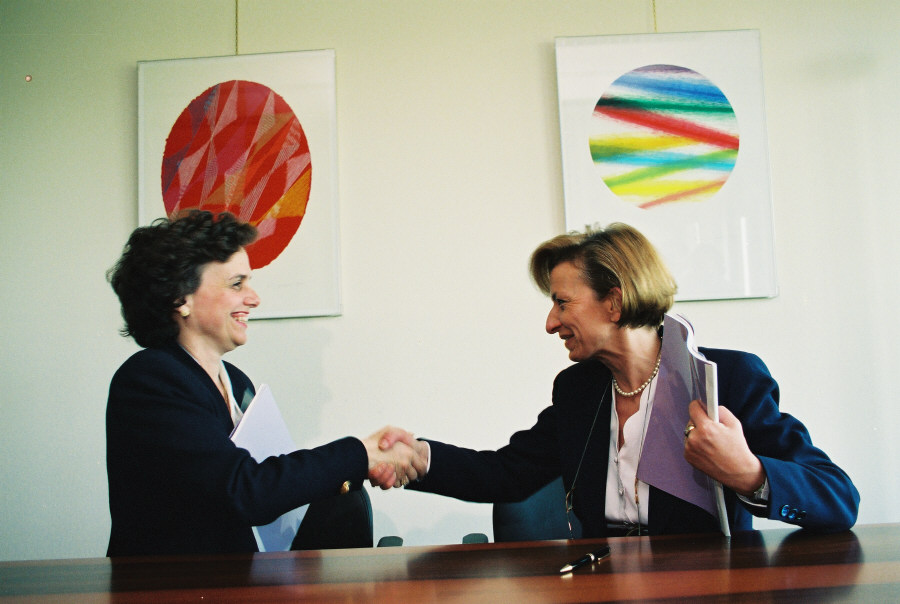 Signing of a Framework Partnership Contract with the WFP