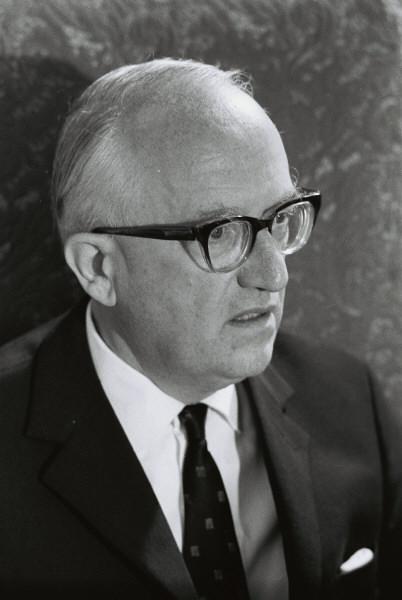 Walter Hallstein, président de la Commission de la CEE