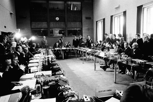 Finances Council, 25 March 1968