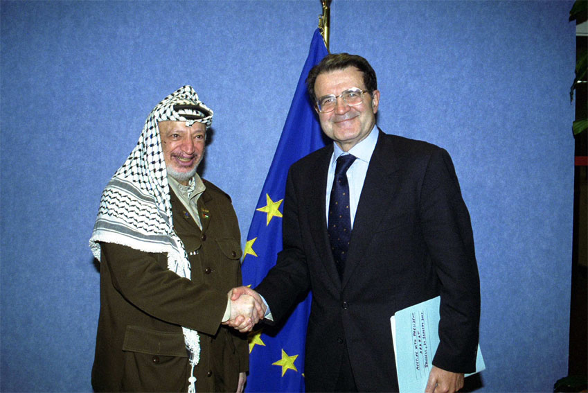 Visit of Yasser Arafat, President of the Palestinian National Authority, to the European Commission