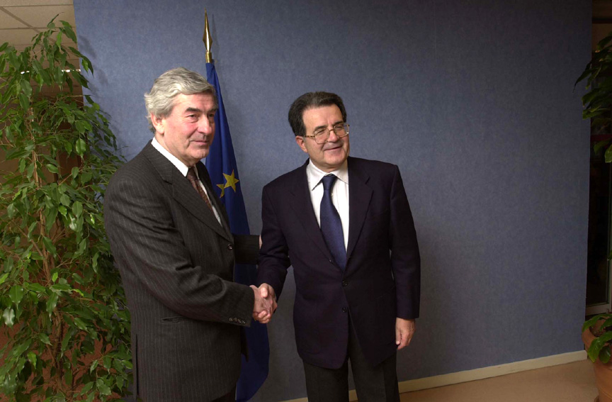 Visit of Ruud Lubbers, UN High Commissioner for Refugees, to the European Commission