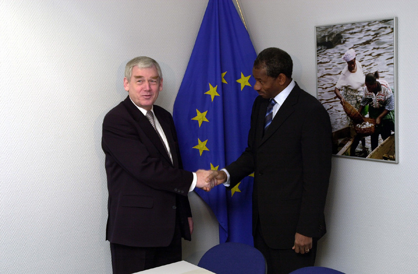 Mandé Sidibé visits the European Commission