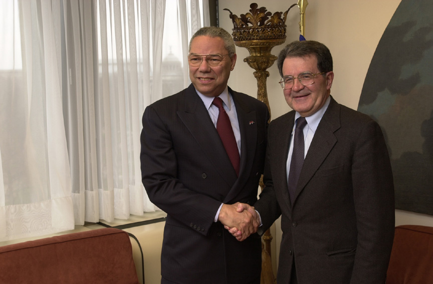 Visit of Colin Powell, U.S. Secretary of State, to the EC