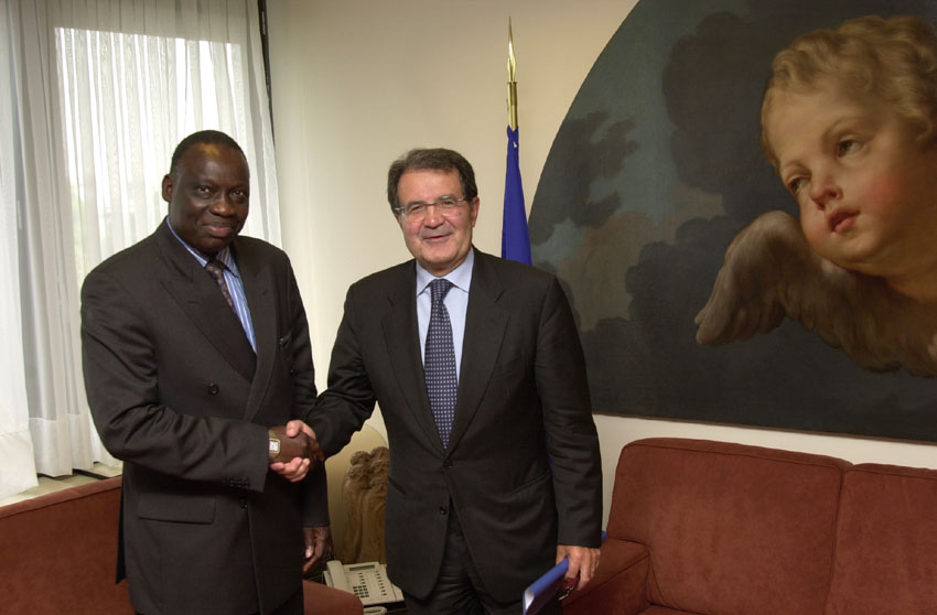 Visit of Moussa Touré, President of the Commission of the WAEMU, to the EC
