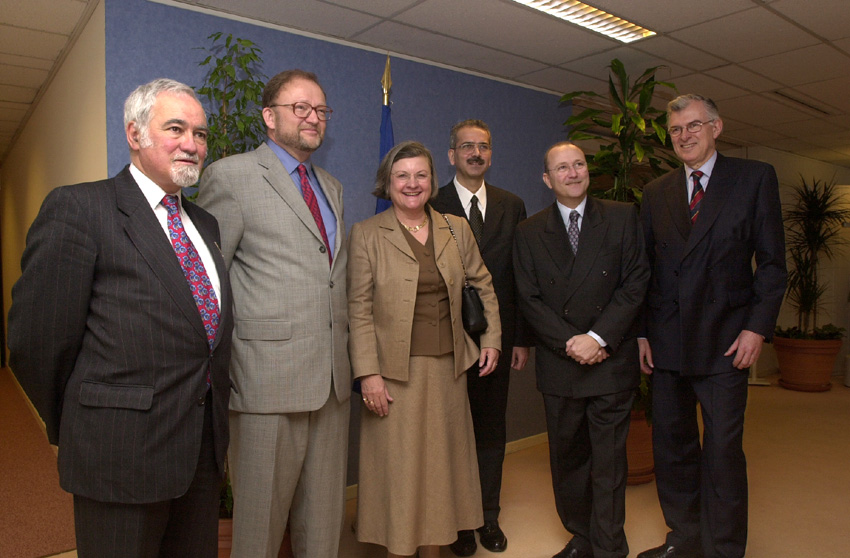 President and members of the European Court of Auditors at the EC