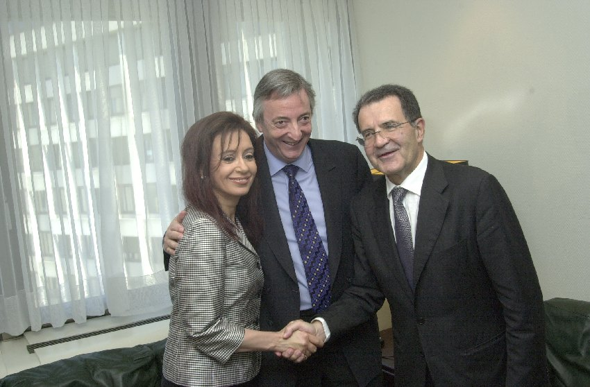 Visit of Néstor Kirchner, President of Argentina, to the EC