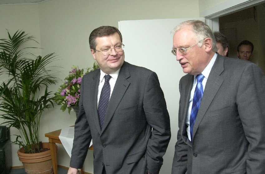 Visit of Kostyantyn Gryshchenko, Ukrainian Minister for Foreign Affairs, to the EC