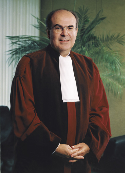 Vassilios Skouris, President of the Court of Justice of the EC
