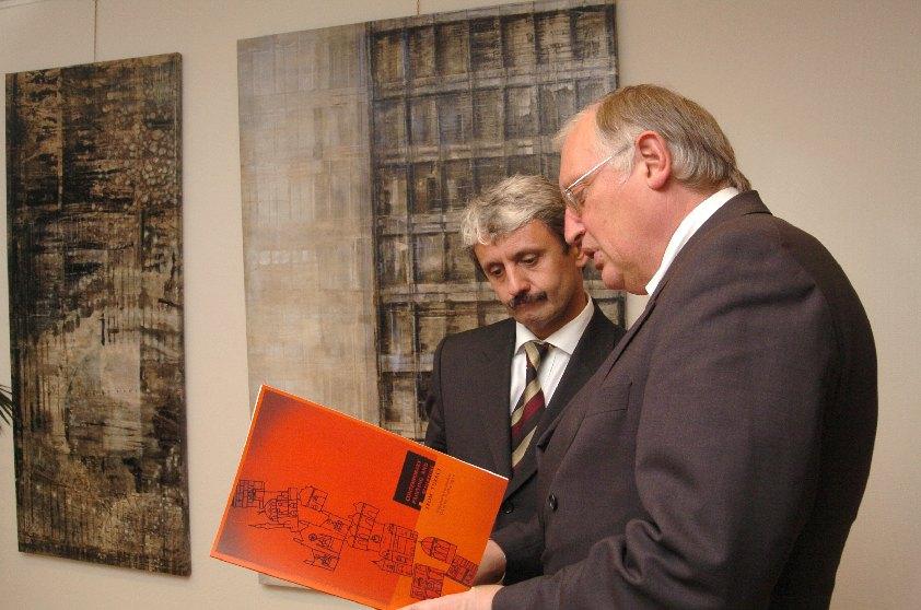 Visit of Mikuláš Dzurinda, Slovak Prime Minister, to the EC