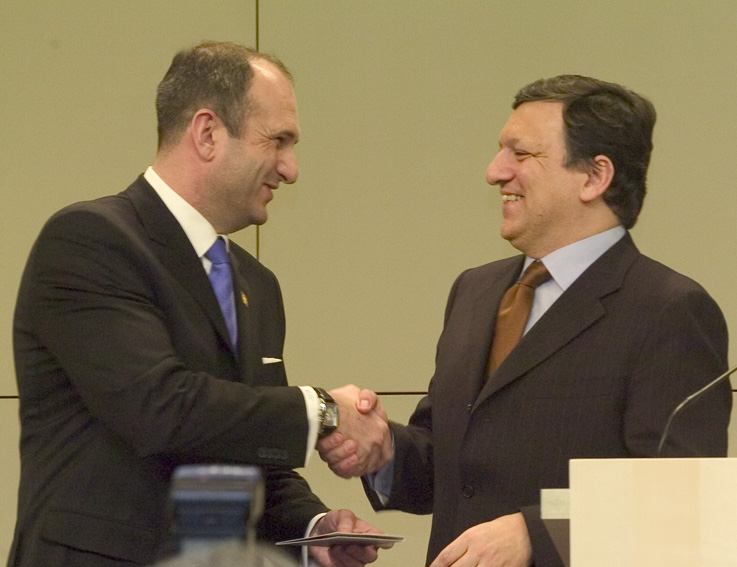 Visit of Vlado Bučkovski, Prime Minister of the former Yugoslav Republic of Macedonia, to the EC