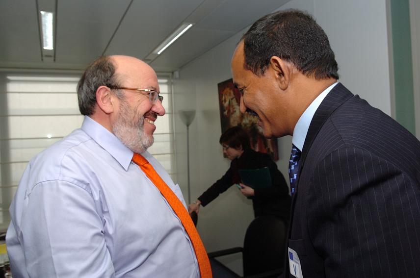 Visite de Sidi Ould Didi, ministre mauritanien des Affaires économiques et du Développement, à la CE