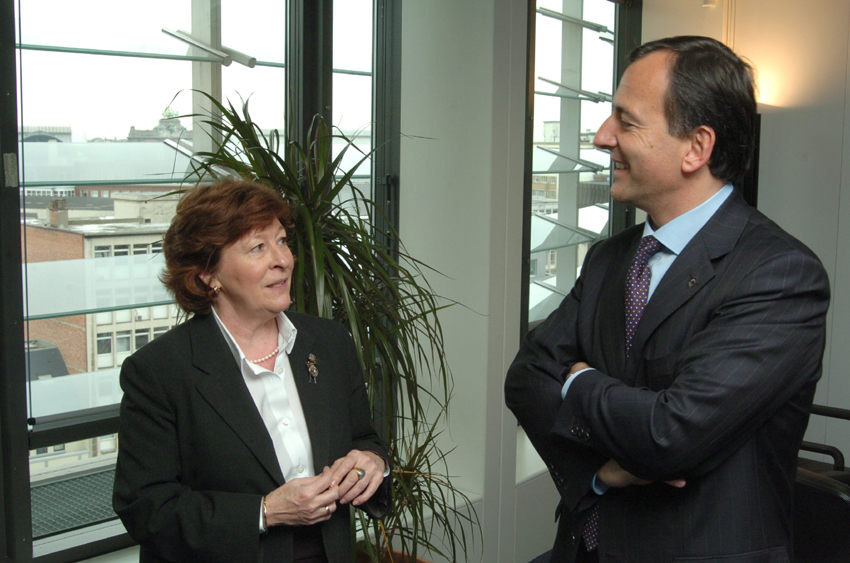 Visit of Louise Arbour, UN High Commissioner for Human Rights, to the EC