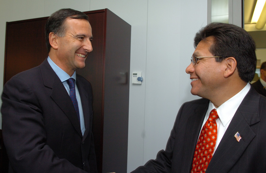 Visit of  Alberto R. Gonzales, US Attorney General, to the EC