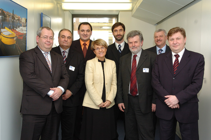 Visit by the Presidents of the Slovak regions to the EC