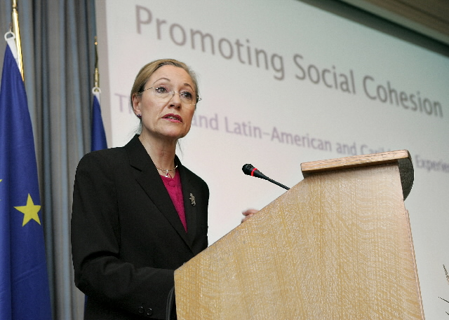 Participation of Benita Ferrero-Waldner, Member of the EC, to the Conference on the efforts to combat social inequality, poverty and exclusion in Latin America, the Caribbean and the EU