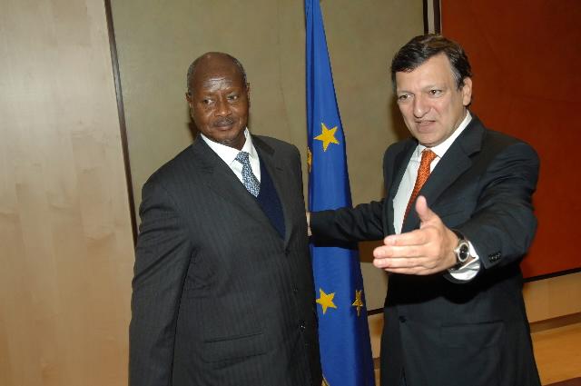 Visit by Yoweri Museveni, President of Uganda, to the EC