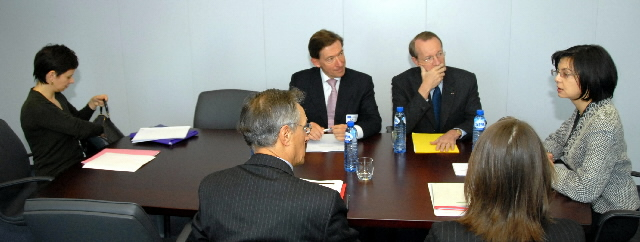 Visit by a delegation of the European Banking Federation, to the EC
