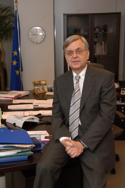 Jörgen Holmquist, Director-General at the EC
