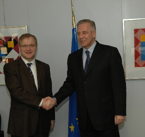 Visit by Ivo Sanader, Croatian Prime Minister, to the EC