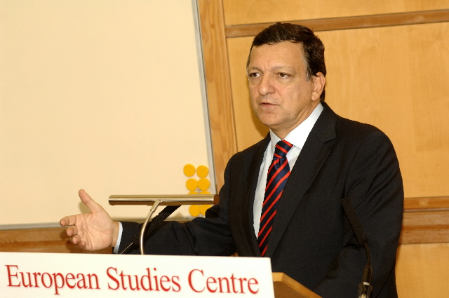 Visit by José Manuel Barroso to Oxford