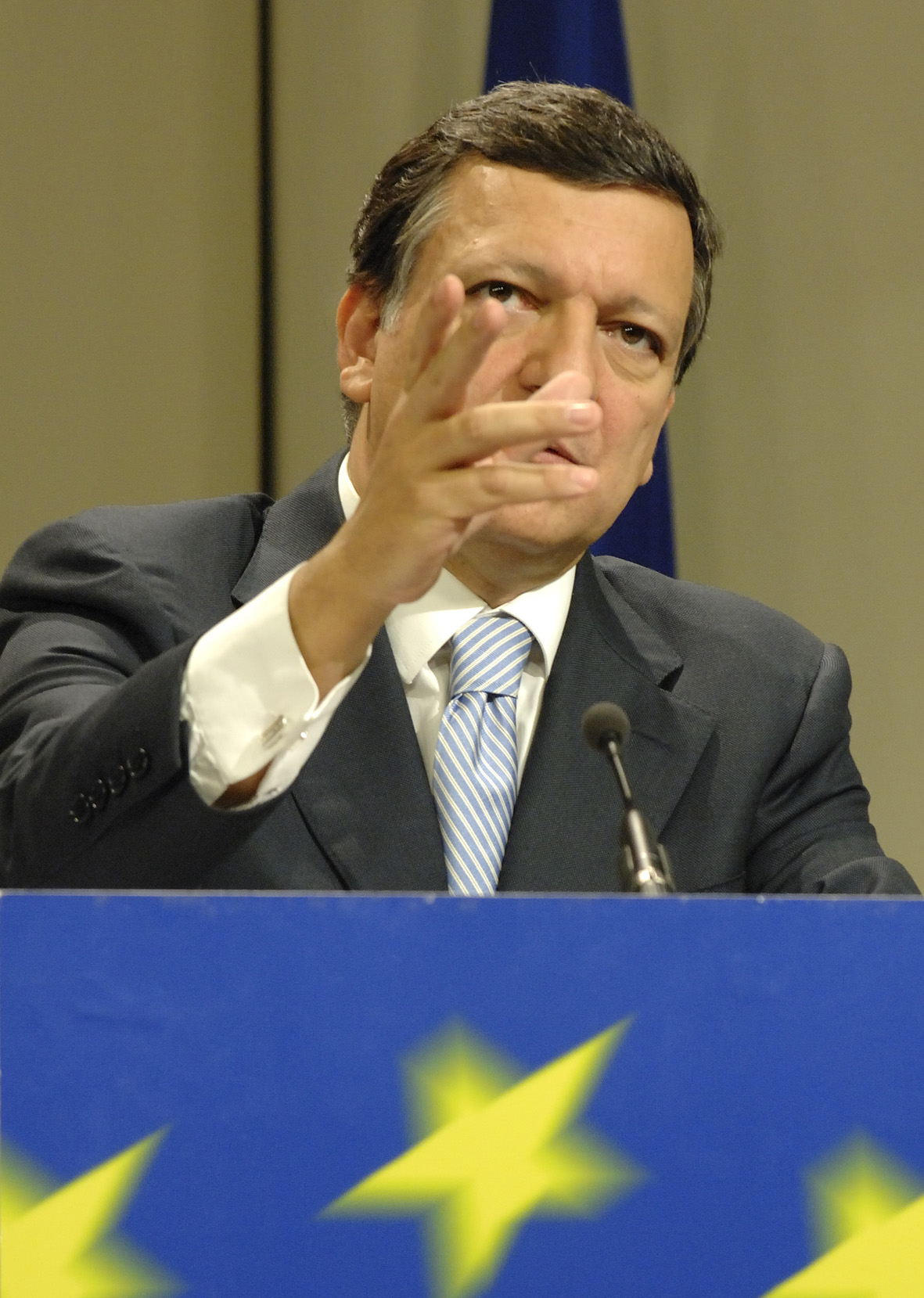 Press conference by José Manuel Barroso, President of the EC, before the Lisbon European Council