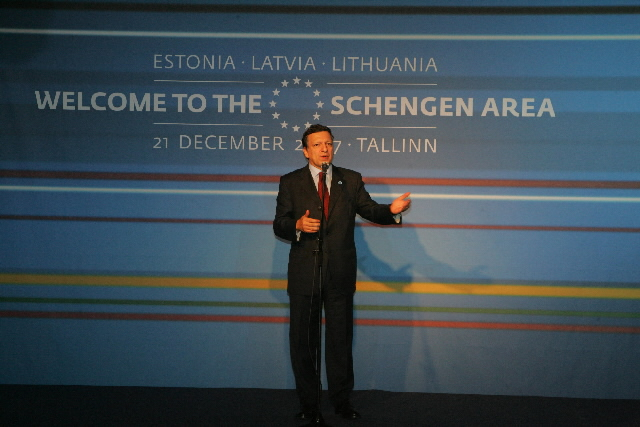 Celebrations for the Enlargement of the Schengen Area