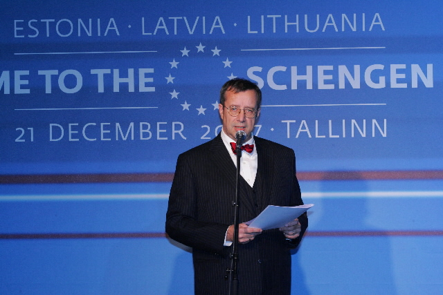 Celebrations for the Enlargement of the Schengen Area
