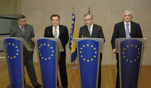 Visit by a delegation of ministers from Bosnia and Herzegovina, to the EC