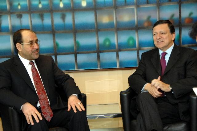 Visite de Nouri al-Maliki, Premier ministre iraquien, à la CE