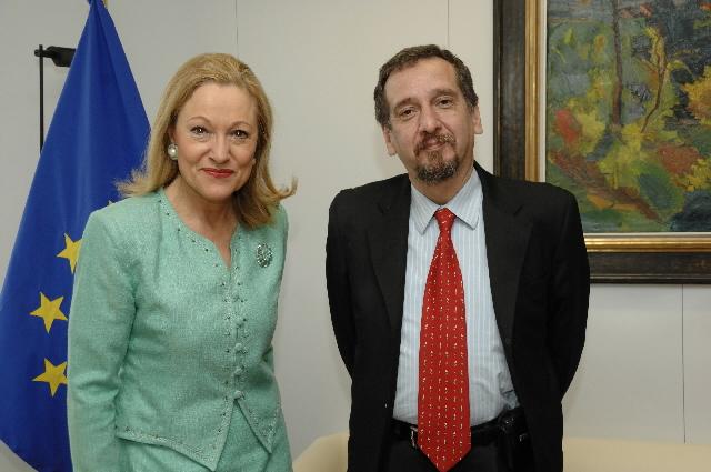 Visite de Lino Barañao, ministre argentin de la Science, de la Technologie et de l'Innovation productive, à la CE