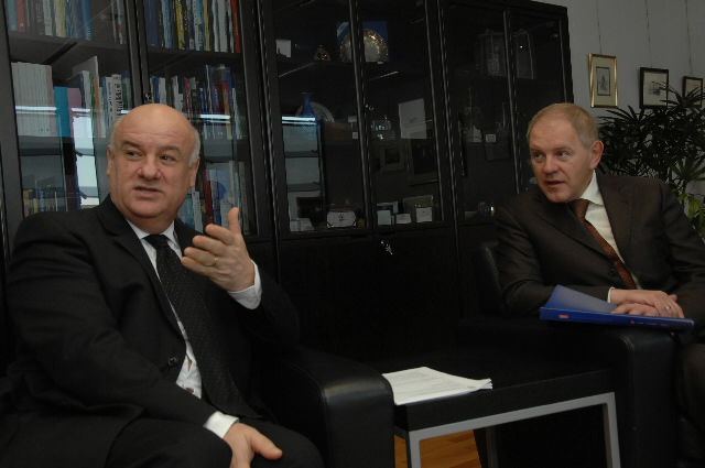 Visit by Andrei Krainy, Chairman of the State Committee for Fisheries of Russia, to the EC
