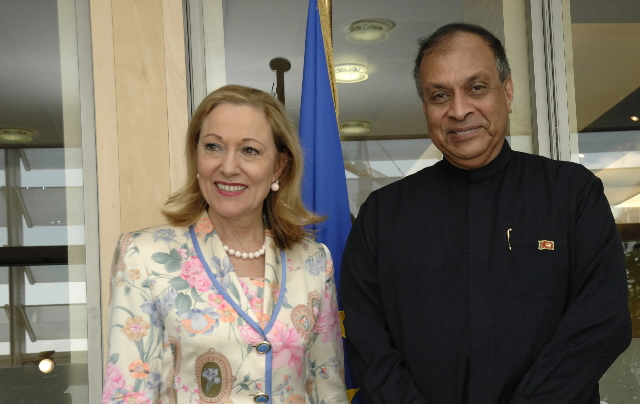 Visit by Karu Jayasuriya, Sri Lankan Minister for Public Administration and Home Affairs, to the EC