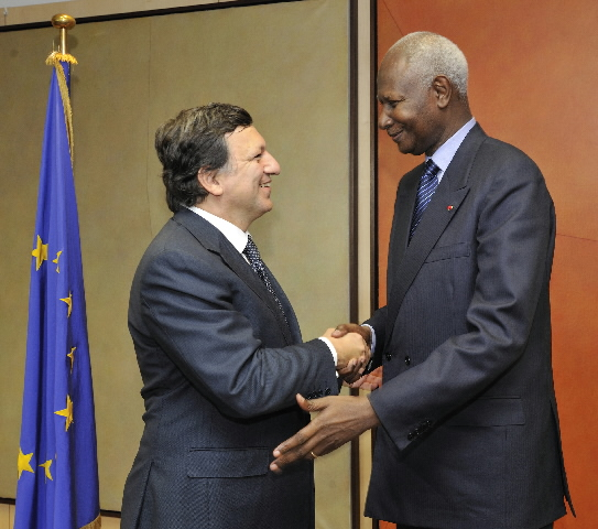 Visit by Abdou Diouf, Secretary General of the International Organisation of La Francophonie, to the EC