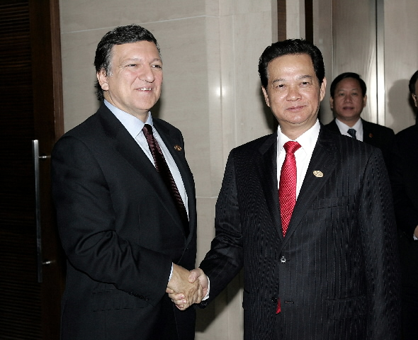 Participation of José Manuel Barroso, President of the EC, in the 7th Asia/Europe Summit (ASEM)