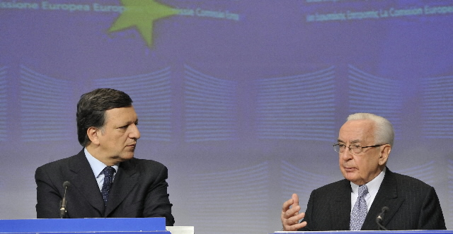 Joint press conference by Jacques de Larosière and José Manuel Barroso on the measures to tighten financial supervision