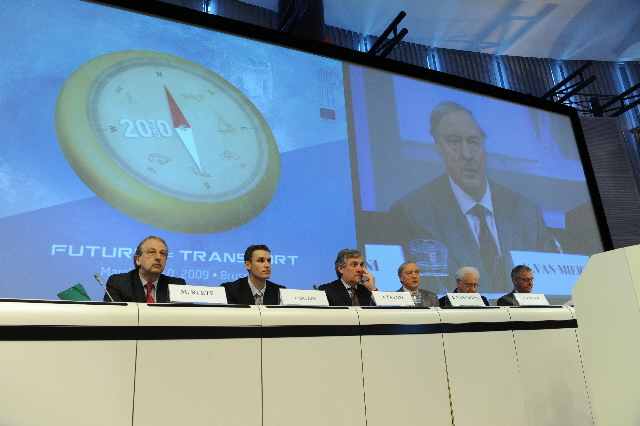 Participation of Antonio Tajani, Vice-President of the EC, in the High level conference on the future of Transport