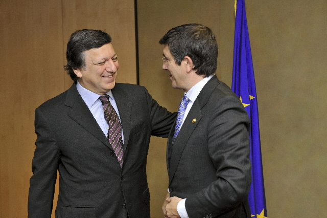 Visit of Patxi López, President of the Basque government, to the EC