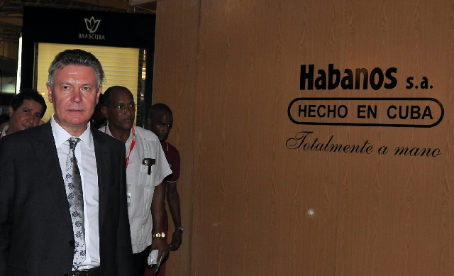 Visit of Karel De Gucht, Member of the EC, to Cuba