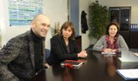 Visit of Isabella Lövin, Member of the EP, to the EC